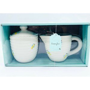 Home Essentials New Honeybee Creamer & Sugar Set
